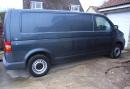 Basic panel van - before conversion