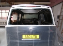 T5 LWB, Tailgate Window Installation