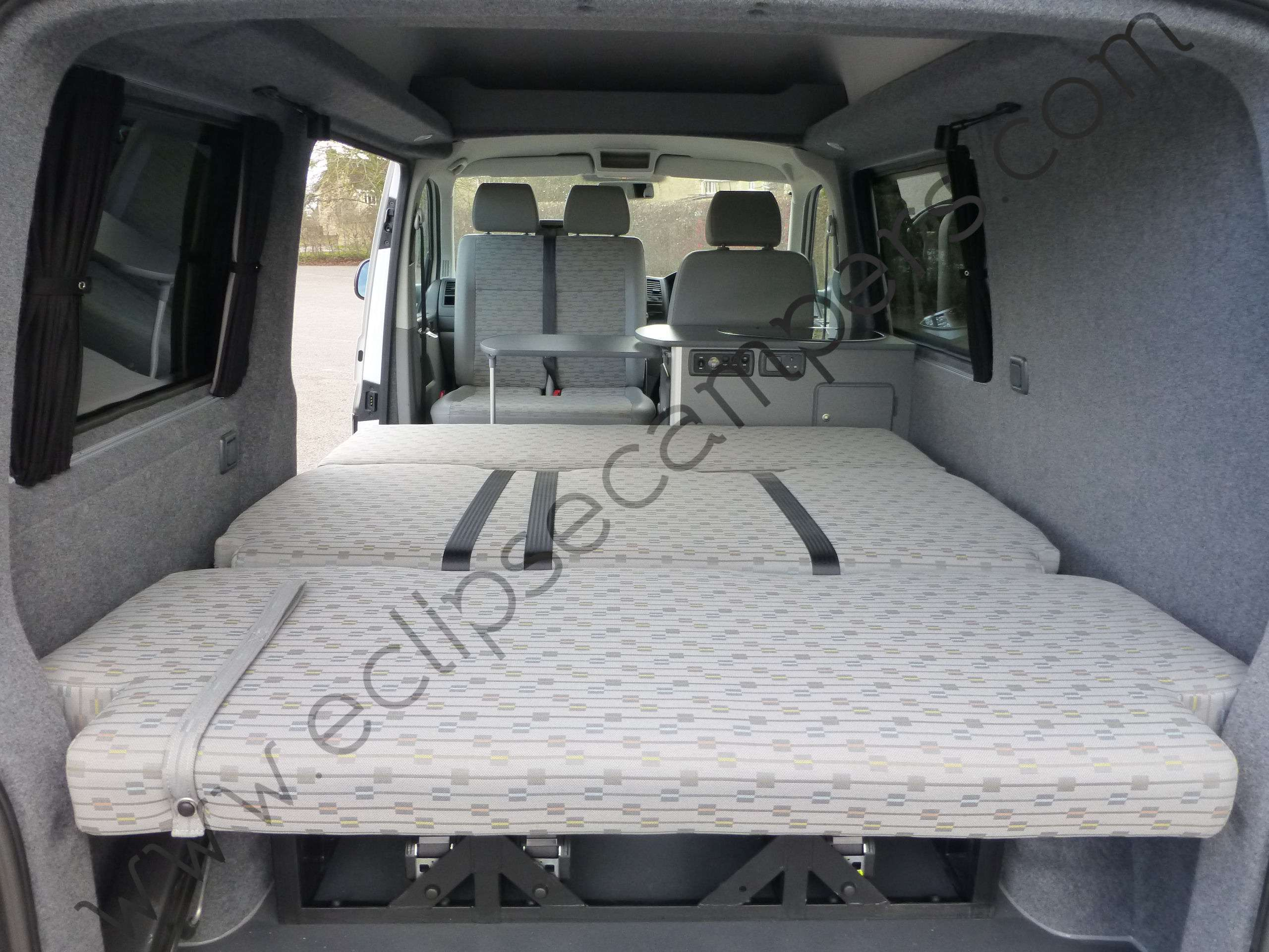 RIB Seat / Bed | Eclipse Custom Campers